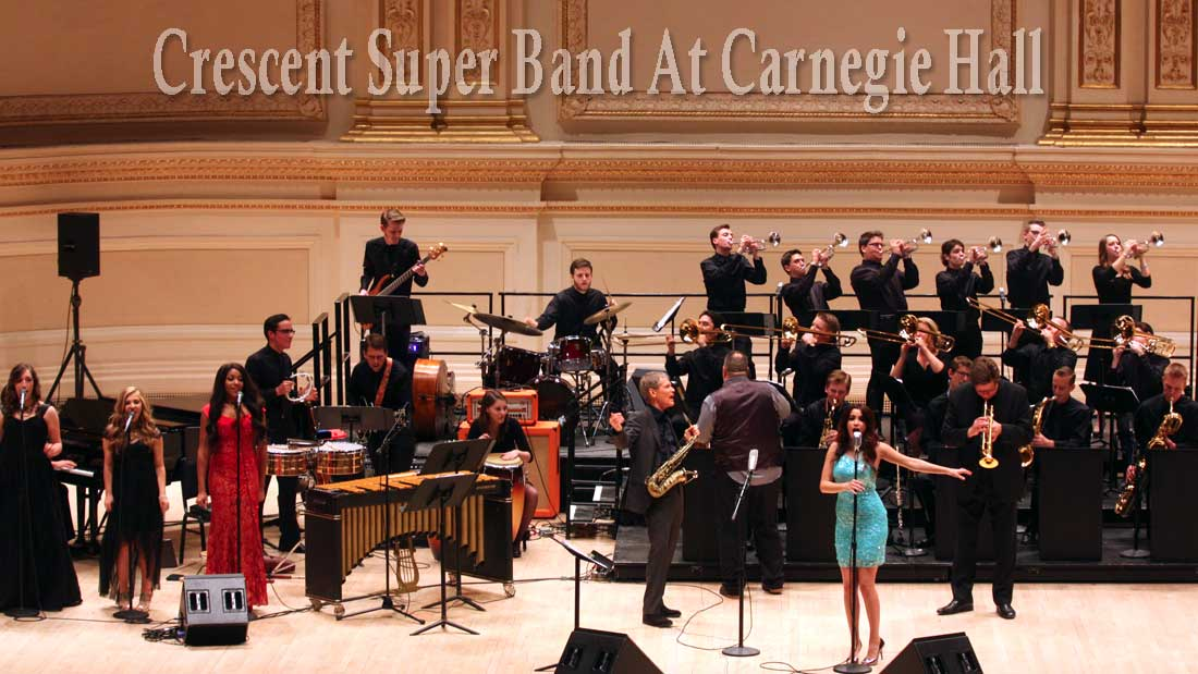 Crescent Super Band Featured at Carnegie Hall